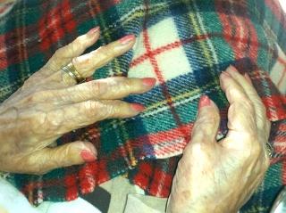 Hospice Elderly Manicure