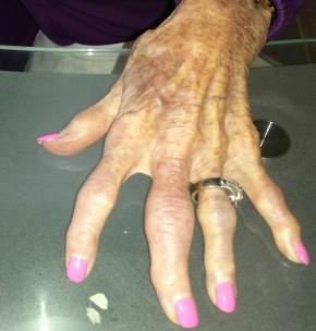 manicure after