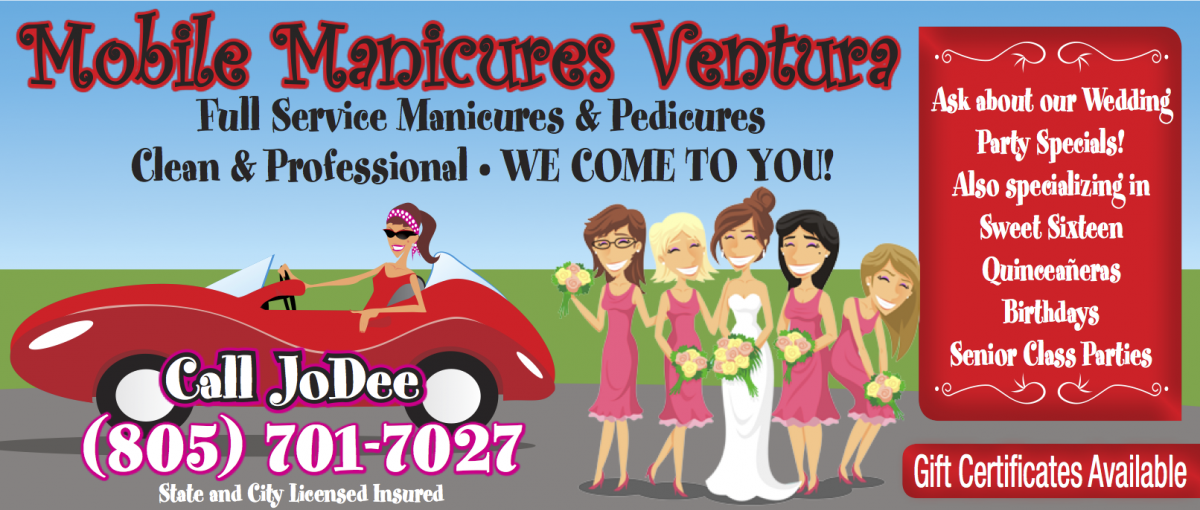 Mobile Manicures Ventura